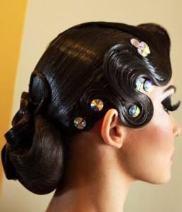 banana peel hairstyle : Ballroom Hair - Tzafora - Blog